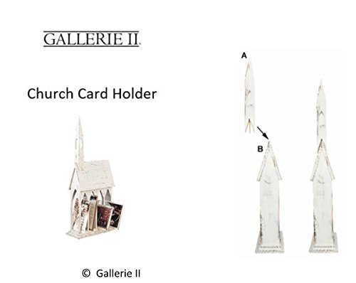 GALLERIE II Church Christmas Card Holder by GALLERIE II (Image #1)