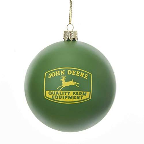 Kurt Adler 3.15 Inches John Deere Ball Ornament Home Accessories
