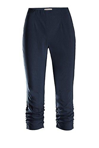 Stehmann - Pantalones para Mujer azul marino