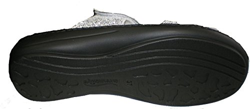 Algemare Womens Synthetik Loafer Flats Silver zn0uE