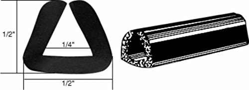 - CRL Rubber Glazing Channel for 1/4
