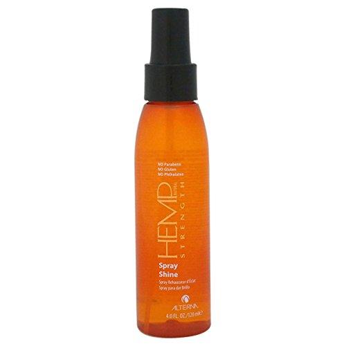 Alterna Hemp with Organics Spray Shine, 4 Ounce