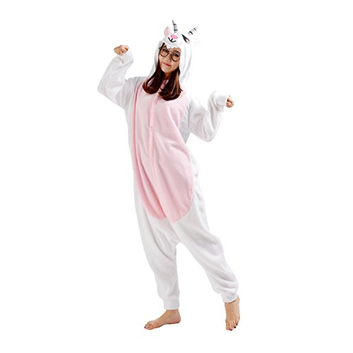 DarkCom Adult Animal Cosplay Costumes Kigurumi Onesies Pajamas Outfit Goat X-Large