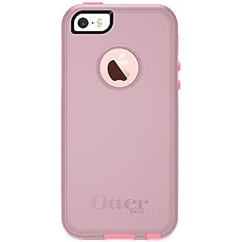 OtterBox COMMUTER SERIES for iPhone 5/5s/SE - Retail Packaging - BUBBLEGUM WAY (BUBBLEGUM PINK/SEASHELL PINK)