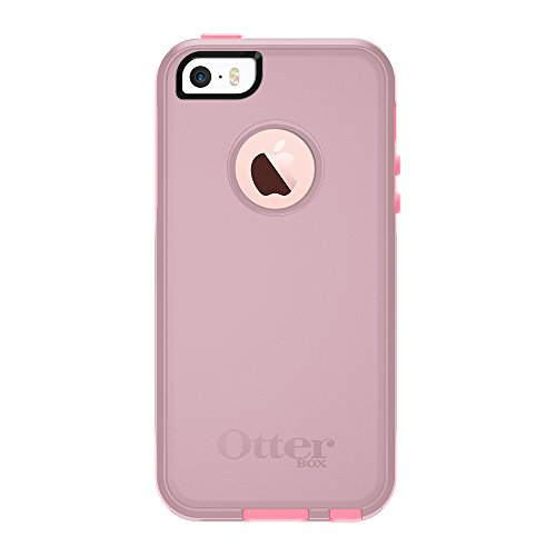 OtterBox COMMUTER SERIES Case for iPhone 5/5s/SE - Frustration Free Packaging - BUBBLEGUM WAY (BUBBLEGUM PINK/SEASHELL PINK)