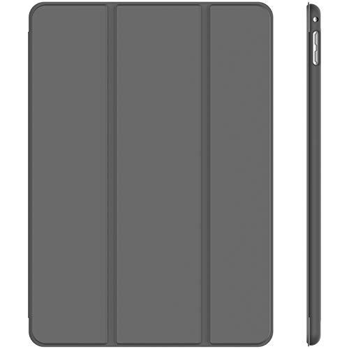JETech Case for Apple iPad Mini 4, Smart Cover with Auto Sleep/Wake, Dark Grey