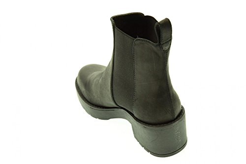 Windsor Smith Eagar, Botines para Mujer Negro (Black Leather)