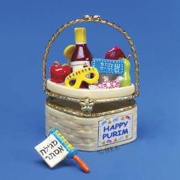 Purim Hinged Box