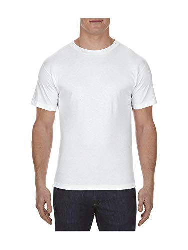 Alstyle Apparel AAA Men's Classic T-Shirt, White, -