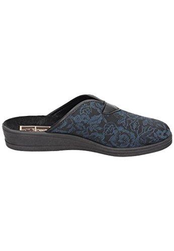 Pantofole Da Donna Blu Blu