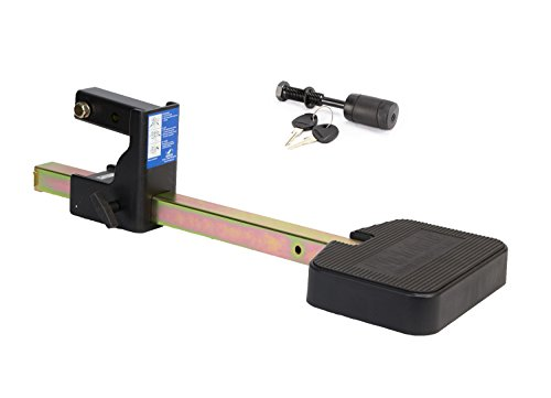 Heininger 4038 Hitch Mate Truck Step XL with Hitch Lock for Full Size Trucks