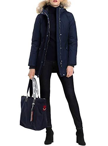 Tommy Tote Logo Bag Jeans Bleu 6AqFfwA