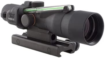 Trijicon ACOG 3×30 Scope, Dual Illuminated Horseshoe Dot