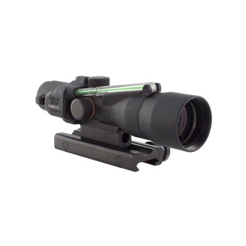 Trijicon TA33-C-400126 ACOG 3x30mm Compact Dual Illuminatedx 40mm, Green Horseshoe/Dot 7.62x39/123gr Ball Reticle with Colt Knob Thumbscrew Mount