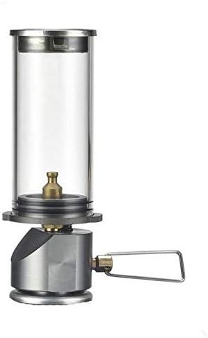 WXJY Mini Portátil Linterna Camping Gas Ligero - Ajustable ...