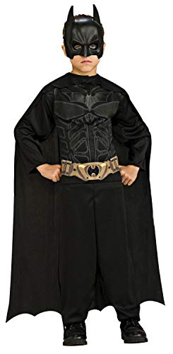 Imagine by Rubies The Dark Knight Rises: Batman Children's Action Suit with Cape and Mask (Renewed)
