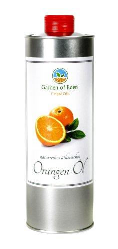 100% reines ätherisches Orangenöl 250ml, kaltgepresst, naturbelassen entsprechend ISO 9235