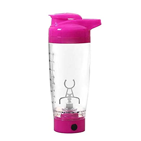 a173881a835cc Amazon.com: Water Bottles - Electric Protein Shaker Bottle Battery ...
