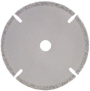 (National Diamond SB4S Slotted Diamond Plated Saw Blade 4