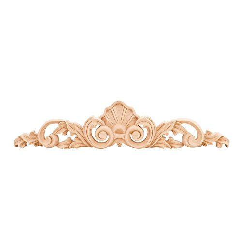 20 in. Hand Carved Onlay (Rubberwood) -