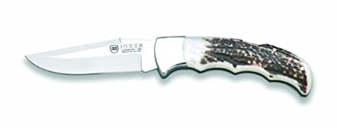 Joker NC17USA Stag Horn Folding Knife, 3.51-Inch (Stag Horn Handle Knife)
