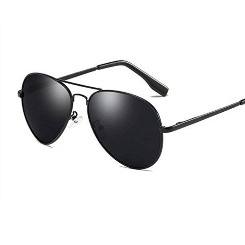 mode 1 verres de soleil Coolsir polarisées Protection UV400 cadre lunettes de unisexe métallique Lunettes de qxFagwH