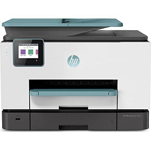 chollos oferta descuentos barato HP OfficeJet Pro 9025 3UL05B Impresora Multifunción Tinta Imprime Escanea Copia y Fax Wi Fi Ethernet USB 2 0 HP Smart App Incluye 2 Meses del Servicio Instant Ink Verde Oasis
