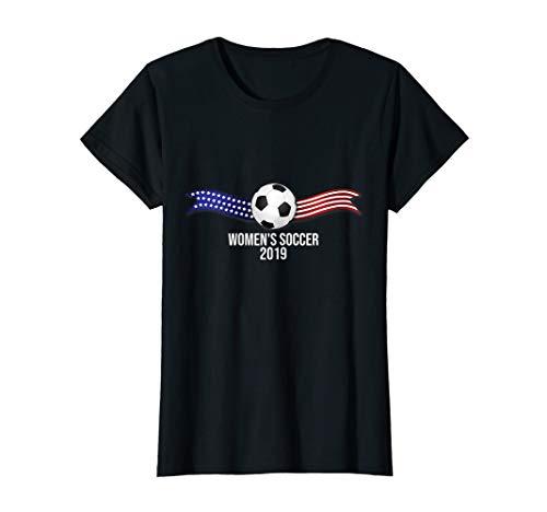 Womens Soccer 2019 USA T Shirt United States US Futbol Tee  T-Shirt