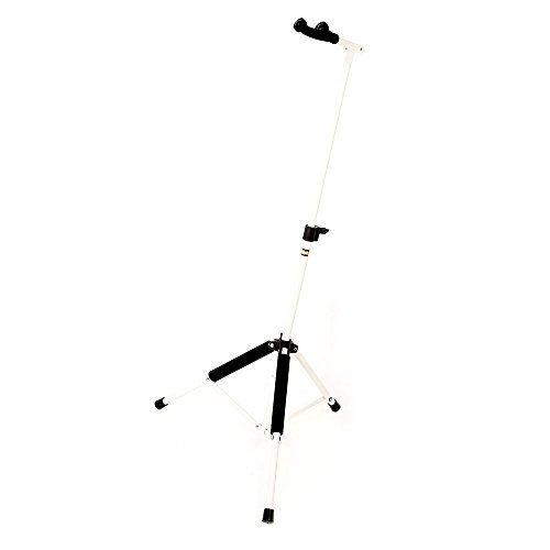 Stage Rocker Powered by Hamilton SR333000W The Hanger Neck Suspending Guitar Stand - White