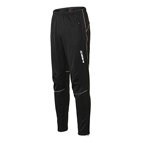 INBIKE Winter Cycling Pants Mens Runing Pants Jacket Windproof Pants Thermal ()