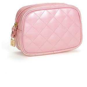 d8b1f39b69a9 Buy Victoria s Secret Signature Pink Quilted Cosmetic Makeup Bag ...