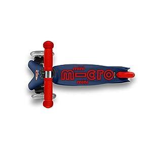 Micro Mobility – Mini Bleu Marine – Trottinette Enfant – Plusieurs Fois Jouet de l'année – Créée en Collaboration avec des Professionnels de la santé. – De 2 à 5 Ans – Bleu Marine