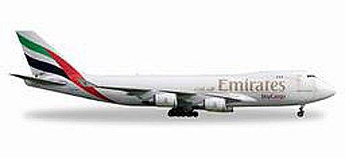 Miniaturfahrzeuge Herpa 528207 Emirates Sky Cargo Boeing 747-400F