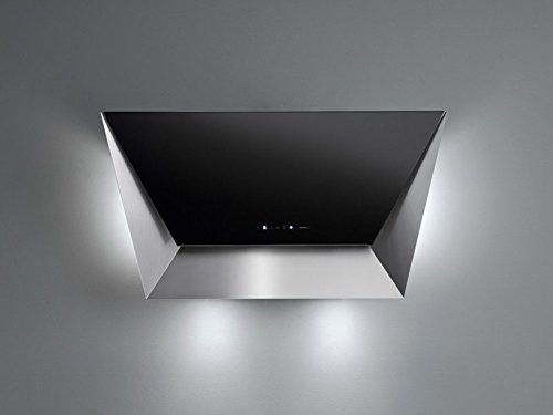 Falmec - Campana de pared prisma acabado negro de 115 cm ...