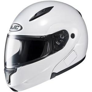 Hjc CL-MAX CLMAX FLIP-UP 2 White SIZE:4XL Full Face Motorcycle Helmet