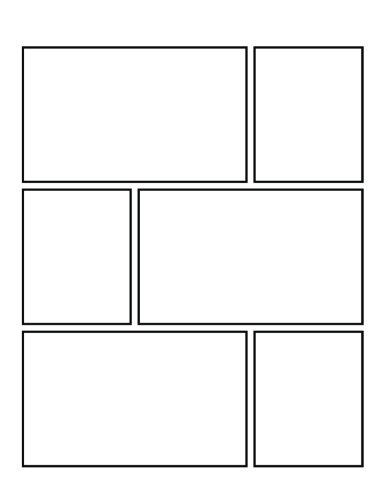 Comic Strips Vol II - Create Your Own Comic Book & Cover: Square Corners, 100 Pages, 8.5 x 11, Soft Cover (Create Your Own Comic Book - Square 100) (Volume 2) (Legacy Square)