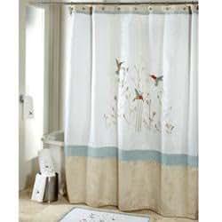 Amazon Com Colibri Fabric Shower Curtain Hummingbirds