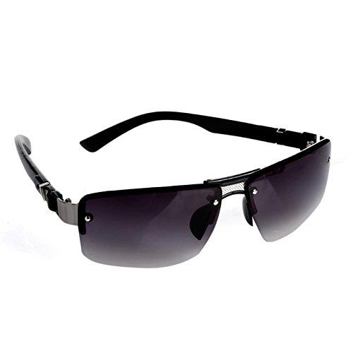 d'Eyewear Gris Sports Hommes de Lunettes Mode rectangulaires aviateur pêche Les de conduisant de de Soleil Double des Mode Junlinto des wFqxaTHgnw