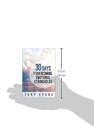 30 DAYS TO OVERCOMING ADDICTIVE BEHAVIOR - EVANS, TONY - NEW PAPERBACK BOOK