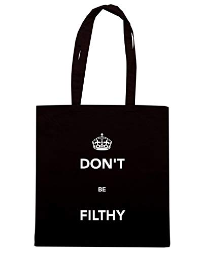 Nera Shirt TKC3643 Shopper BE DON'T Borsa Speed FILTHY qtU6wCq