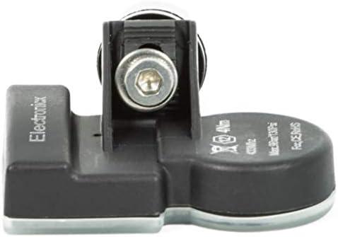 4x RDKS TPMS Reifendrucksensor Reifendruckkontrollsystem Metallventil DarkGrey passend f/ür Sebring Cherokee Avenger Caliber