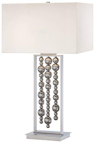 2 Lamp Kovacs Table George - George Kovacs P762-077 Two Light Table Lamp, 34