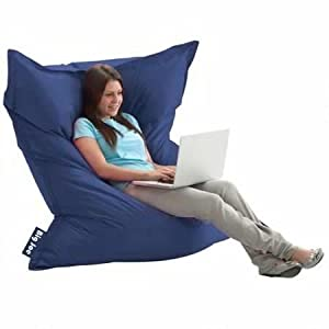 The Original Big Joe Bean Bag, Multiple Colors 'sapphire'