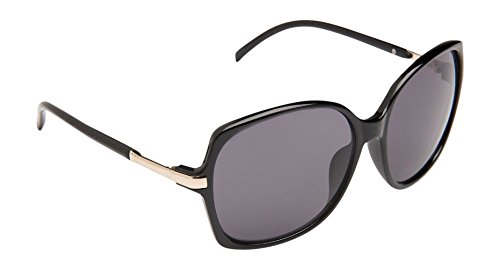 Aeropostale Oversized Plastic Sunglasses Black - Aeropostale Sunglasses