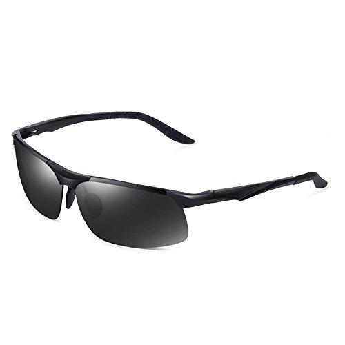 De De Los ProteccióN Gafas Hombres Sol TESITE 100 Gafas De Polarizadas De UV ConduccióN Gafas Negro gwxqB