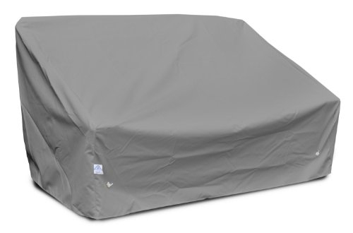 KoverRoos Weathermax 86350 Deep 2-Seat Sofa Cover, 58-Inch Width by 35-Inch Diameter by 32-Inch Height, Charcoal by KOVERROOS