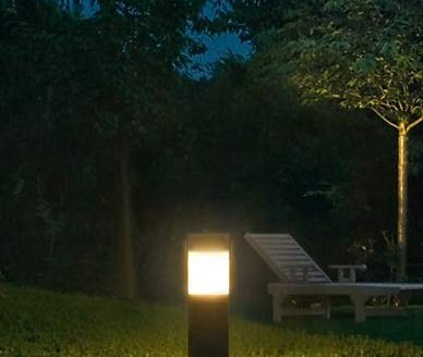 LED Bollard Landscape Lights 25'' 10W 3000K 120-277V Commercial/Residential Lighting Fixture for Garden, Pathway, Driveway. Rated IP65 Suitable for Wet Locations, ETL Listed by harrrrd (Image #5)