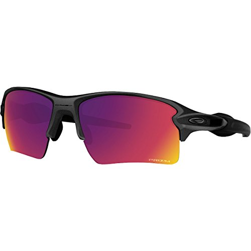 Oakley Adult Flak 2.0 Asian Fit Sunglasses, Steel/Prizm Road, One - Work Oakley Sunglasses