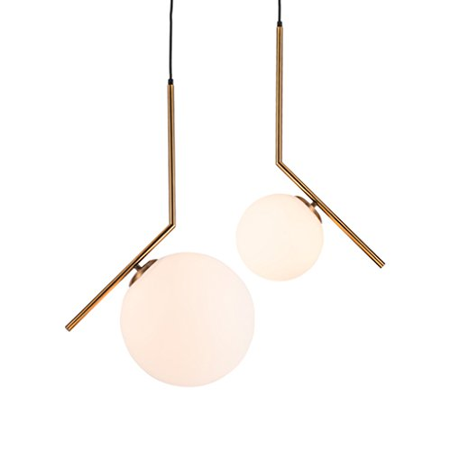 Wsxxn Luxury Creative Chandelier with Nordic Pendant Light, Personalized Bedside Candelabra and Mini Bedside Lamps Pendant Lighting Lantern Lamps (Size : Diameter 20cm) by Wsxxn (Image #1)
