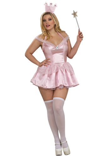 Glinda the Good Witch Costume - Plus Size - Dress Size Up to 18